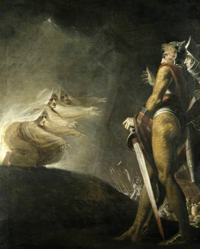 Macbeth, Banquo and the Witches - Henry Fuseli