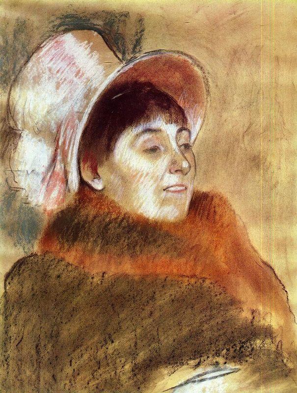 Madame Deitz-Monin - Edgar Degas