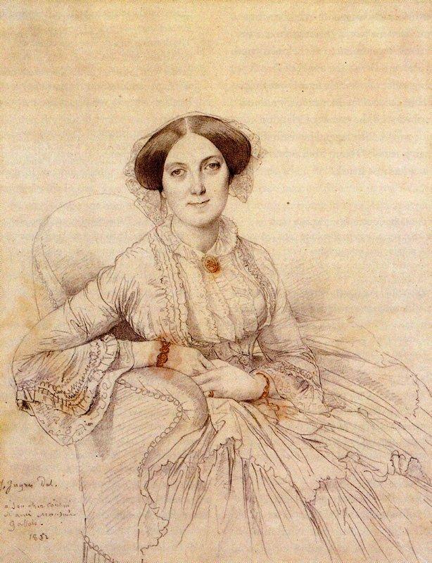 Madame Felix Gallois, born Nathalie Rose Joachime Bochet - Jean Auguste Dominique Ingres