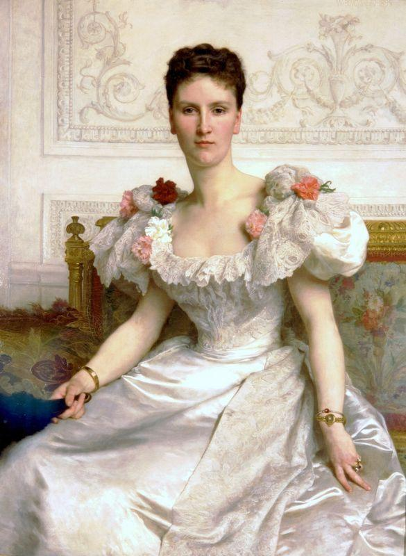 Madame la Comtesse de Cambaceres - William-Adolphe Bouguereau
