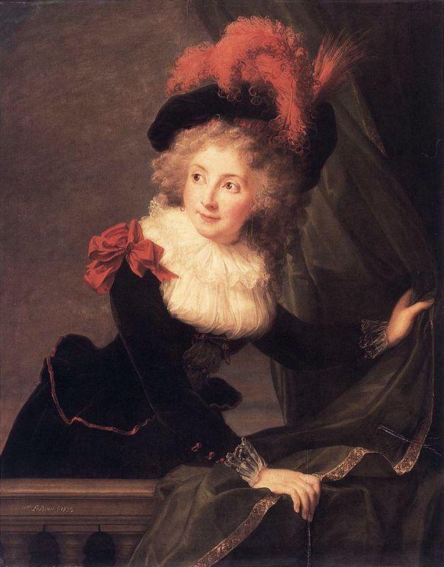 Madame Perregaux - Louise Elisabeth Vigee Le Brun