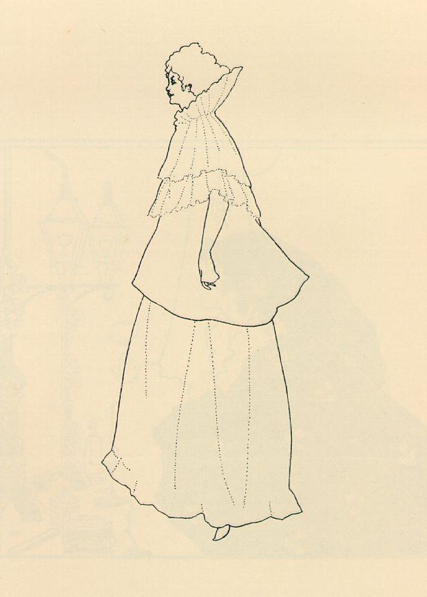 Madame Rejane - Aubrey Beardsley