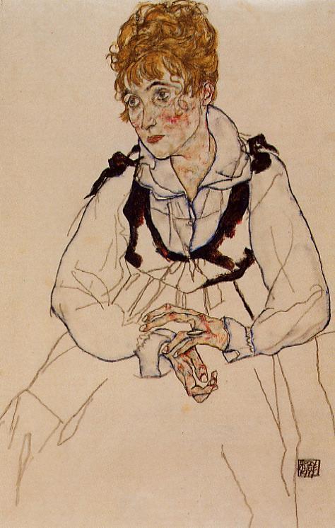 Madame Schiele - Egon Schiele