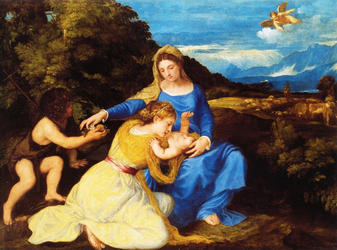 Madonna Aldobrandini  - Titian