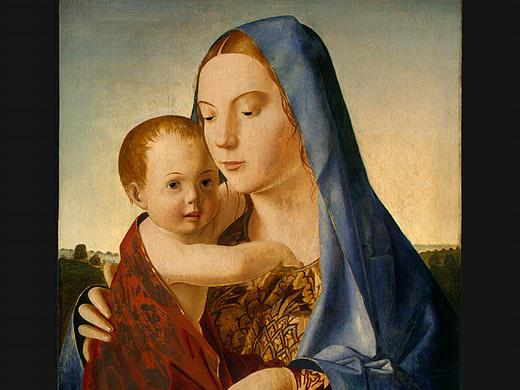 Madonna and Child - Antonello da Messina