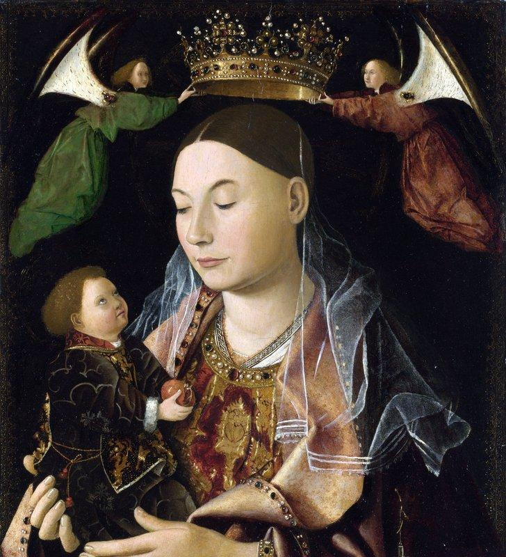 Madonna and Child (Salting Madonna) - Antonello da Messina