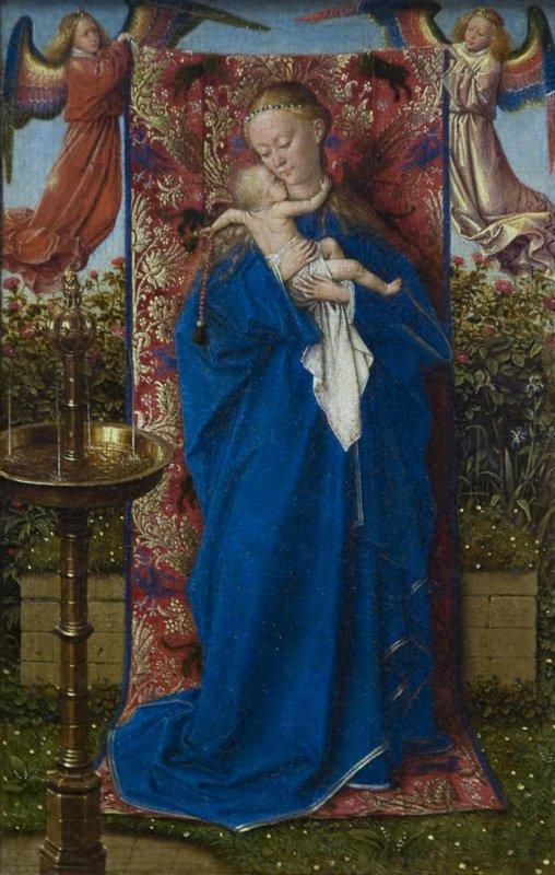 Madonna at the Fountain - Jan van Eyck
