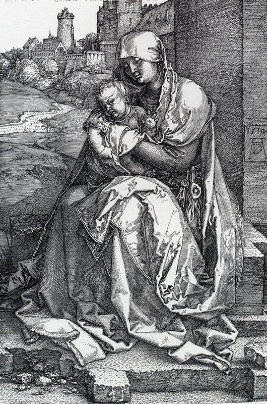 Madonna By The Wall - Albrecht Durer