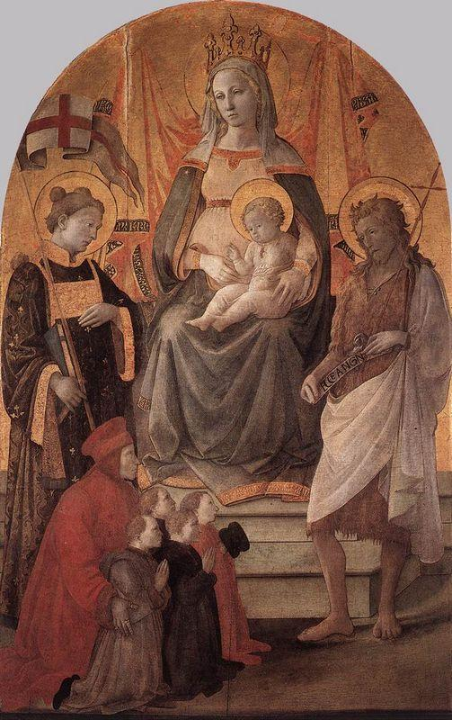 Madonna del Ceppo - Filippo Lippi