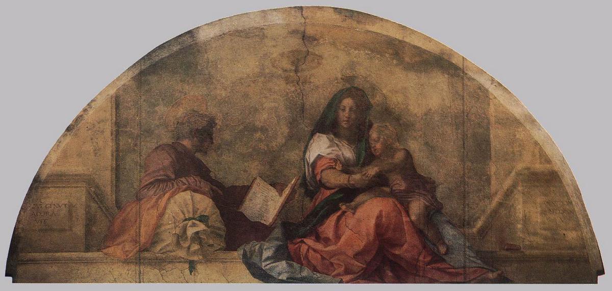 Madonna del Sacco - Andrea del Sarto