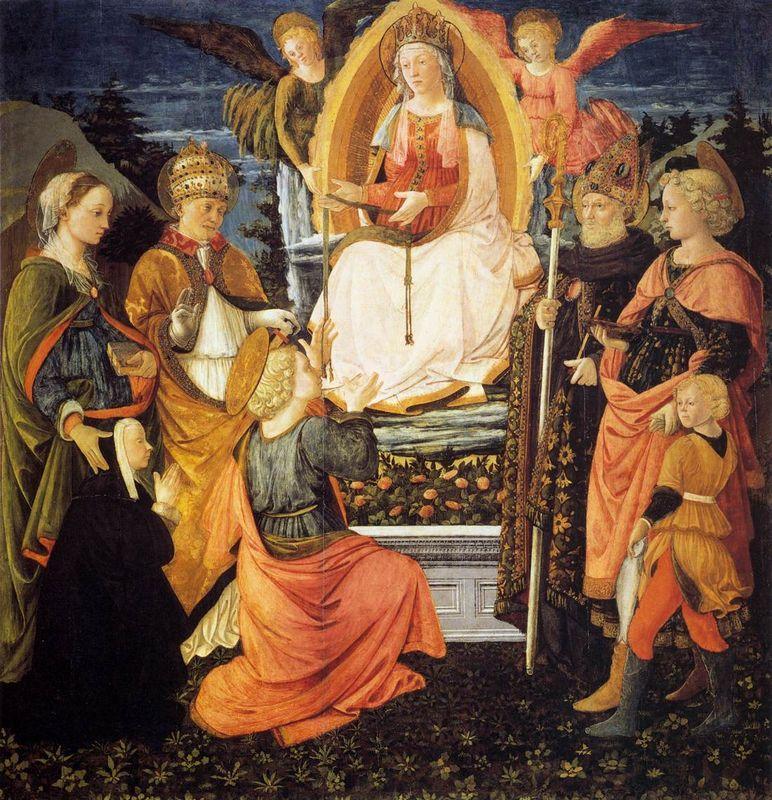 Madonna della Cintola - Filippo Lippi