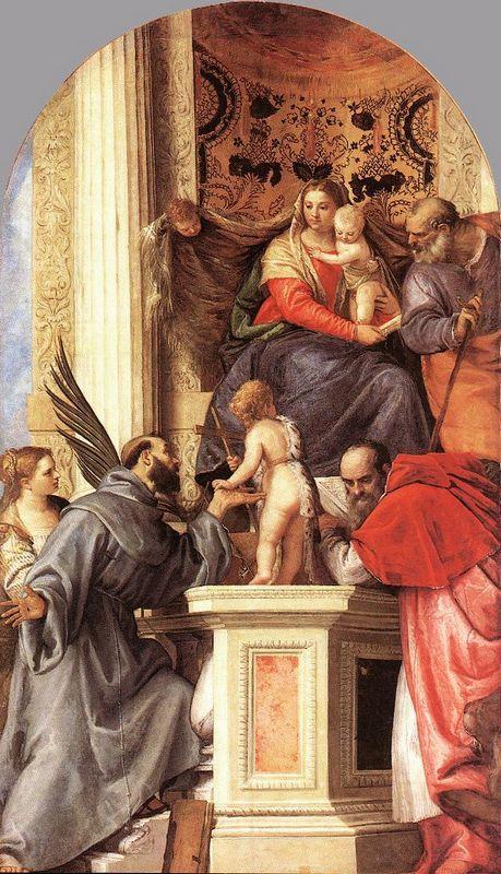 Madonna Enthroned with Saints - Filippo Lippi