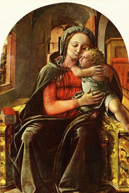 Madonna Enthroned - Filippo Lippi