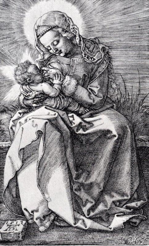 Madonna Nursing - Albrecht Durer