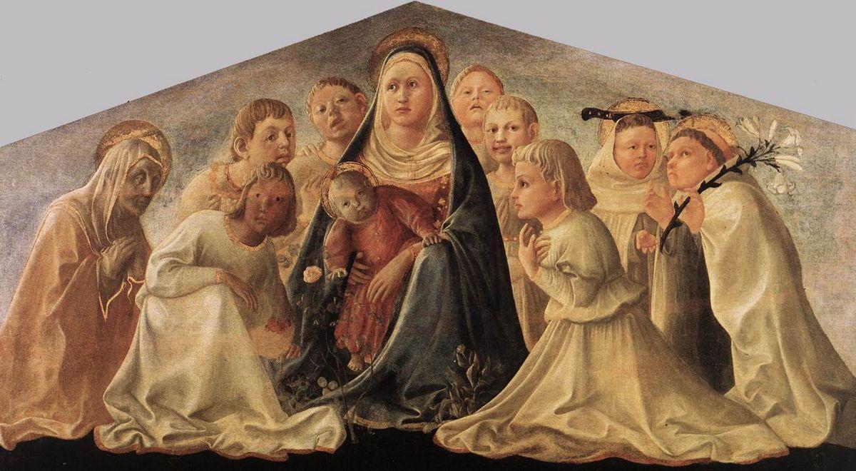 Madonna of Humility - Filippo Lippi