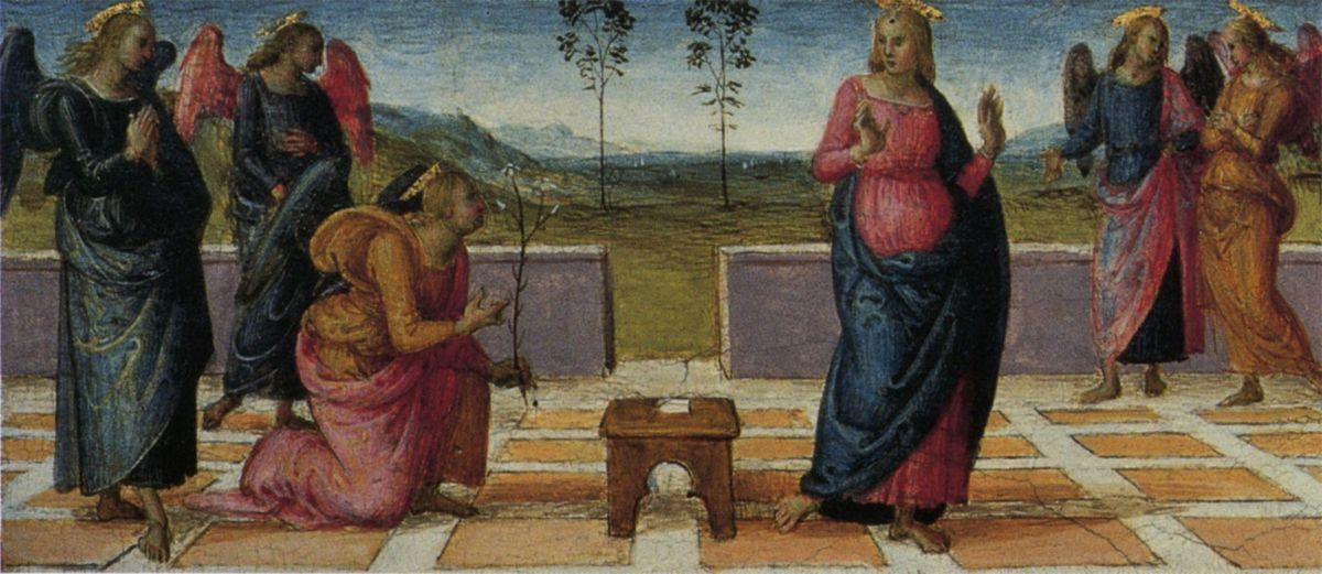 Madonna of Loreta (Annunciation) - Pietro Perugino