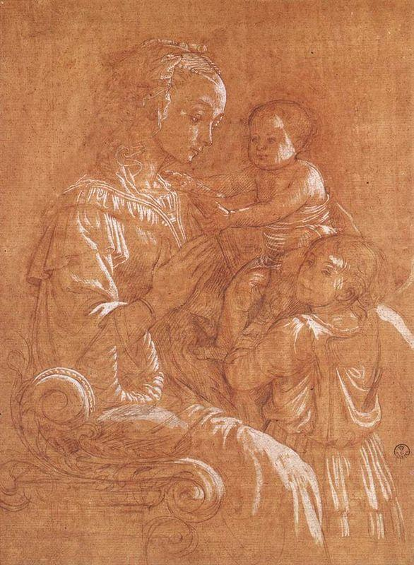 Madonna with the Child and two Angels - Filippo Lippi