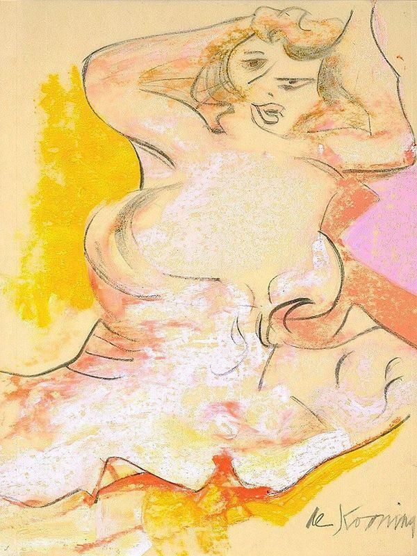 Mae West - Willem de Kooning