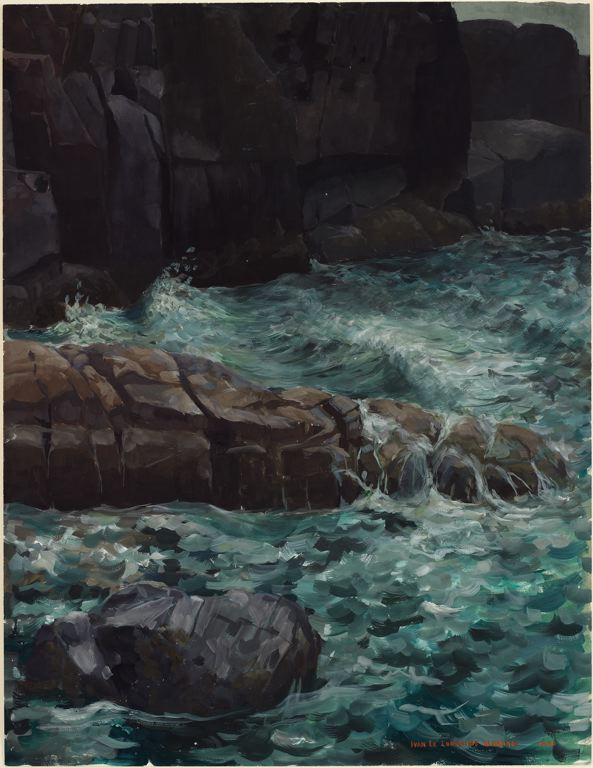 Maine Coast - Ivan Albright