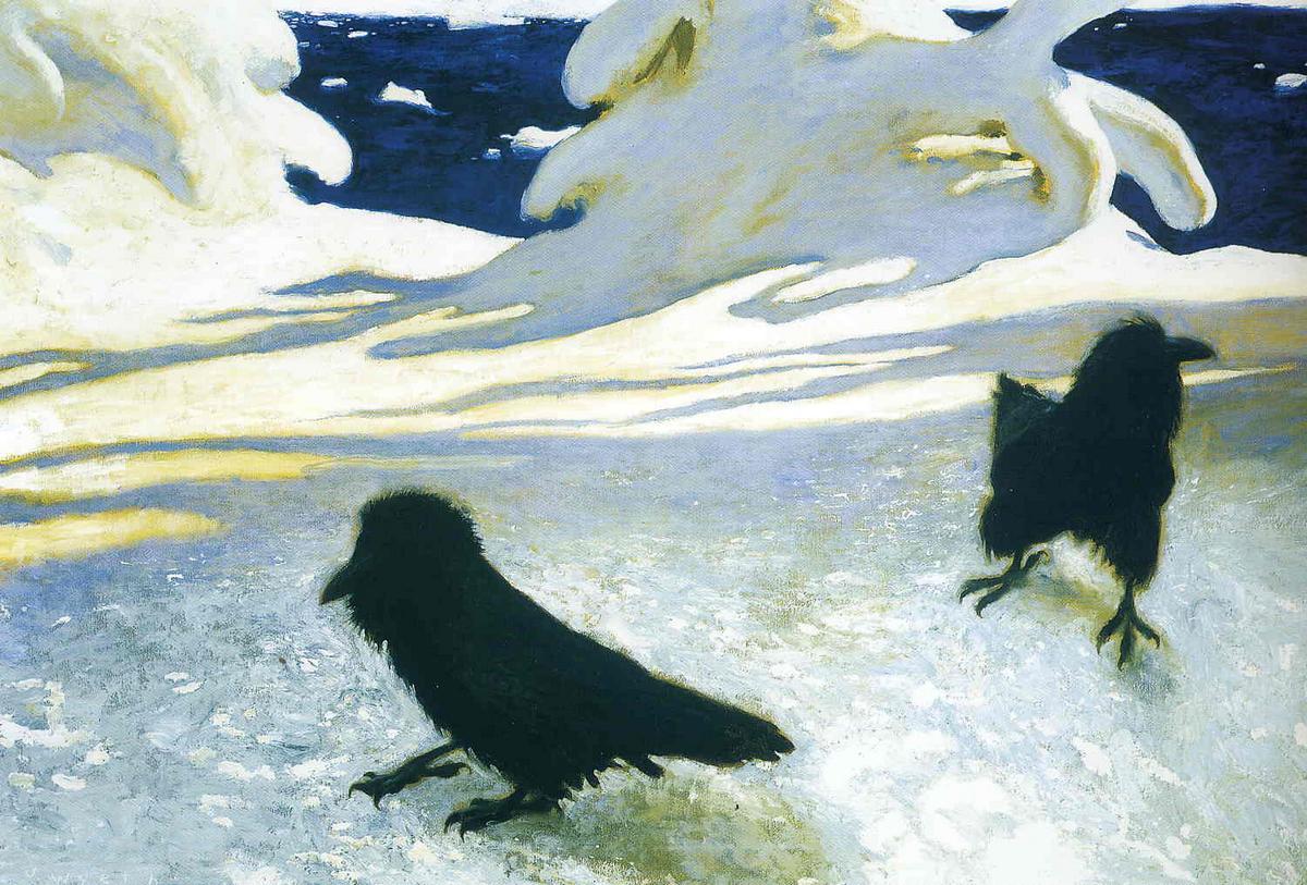 Maine Ice Storm - Jamie Wyeth