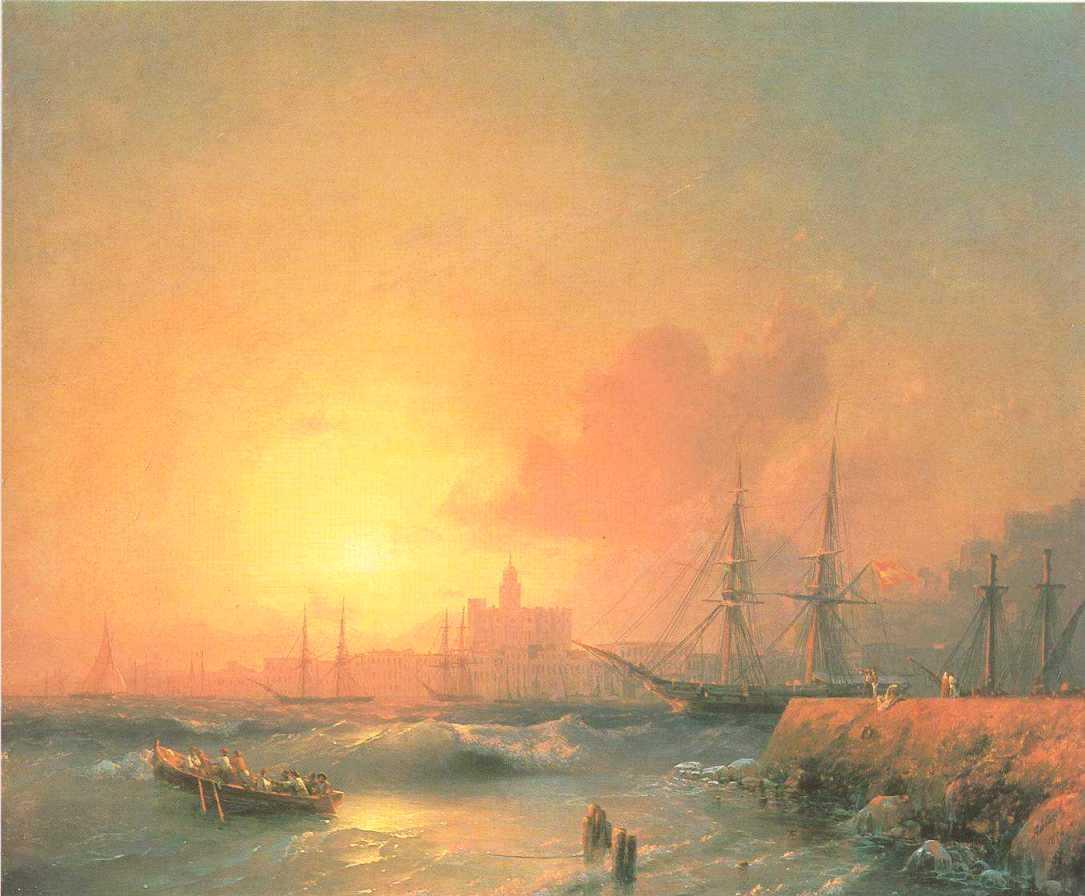 Malaga - Ivan Aivazovsky
