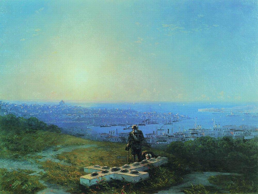 Malakhov Hill - Ivan Aivazovsky