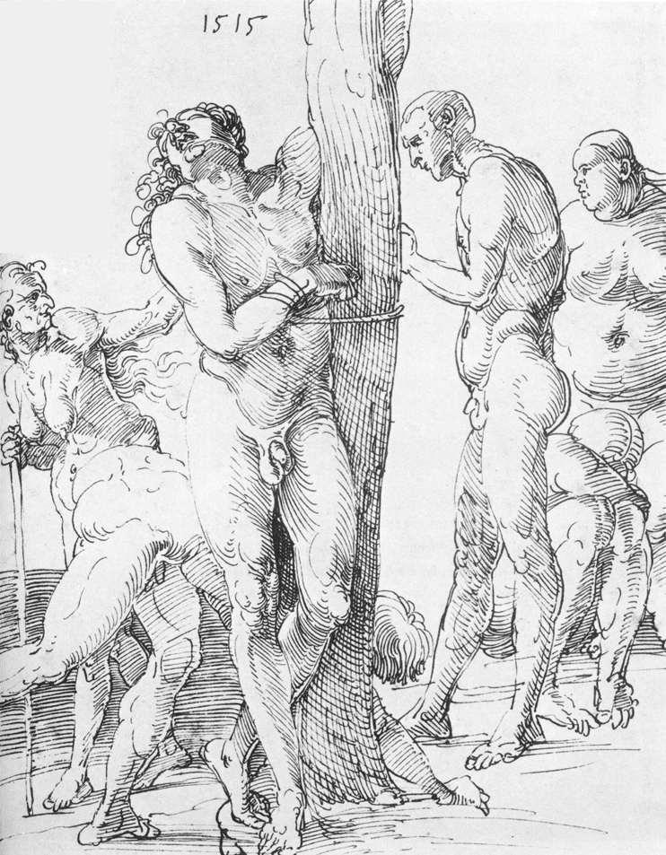 Male and Female Nudes - Albrecht Durer