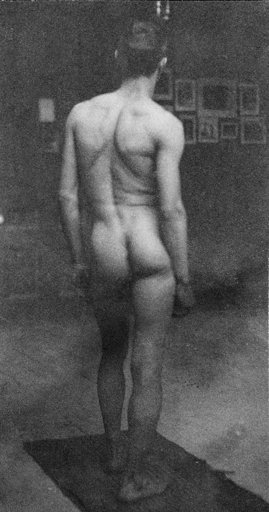 Male Nude (Samuel Murray) - Thomas Eakins
