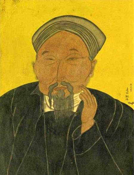 Male Portrait - Konstantin Makovsky