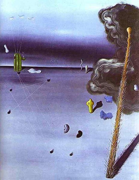 Mama, Papa is Wounded! - Yves Tanguy