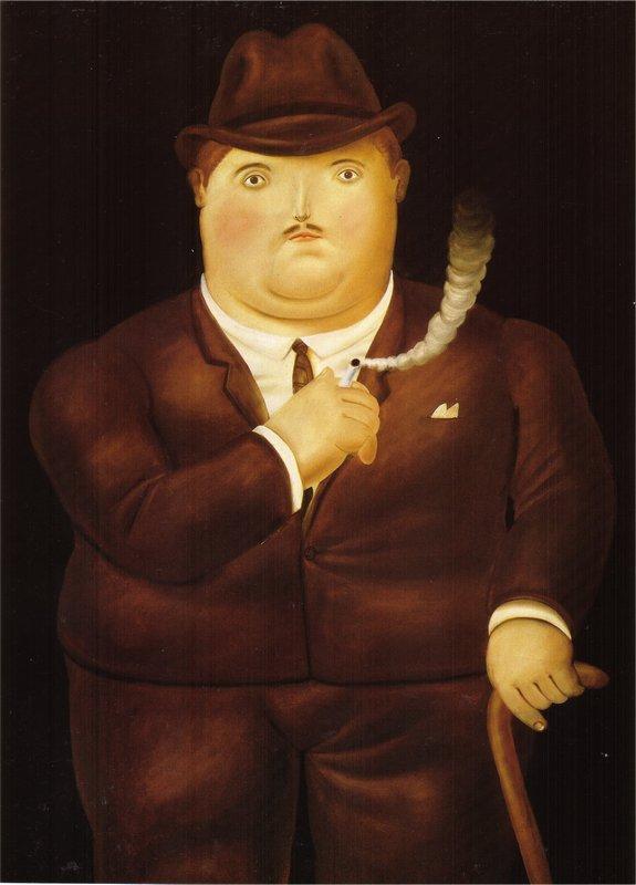 Man in a Tuxedo - Fernando Botero
