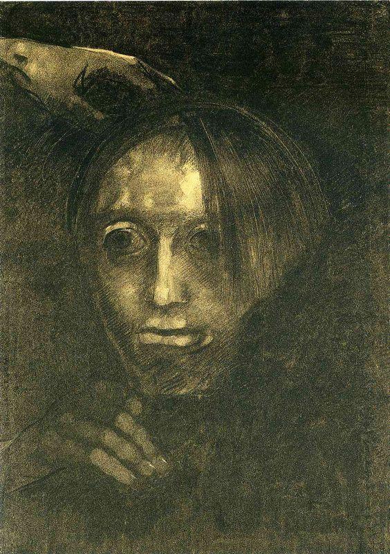 Man's Head - Arshile Gorky