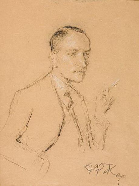 Man Smoking - Fernando Botero