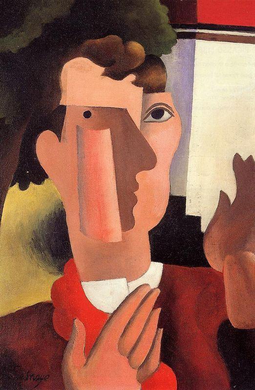 Man with a Red Kerchief - Roger de La Fresnaye