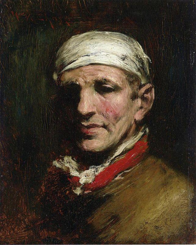 Man with Bandana - William Merritt Chase