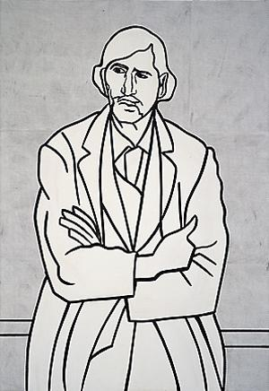 Man with folded arms - Roy Lichtenstein