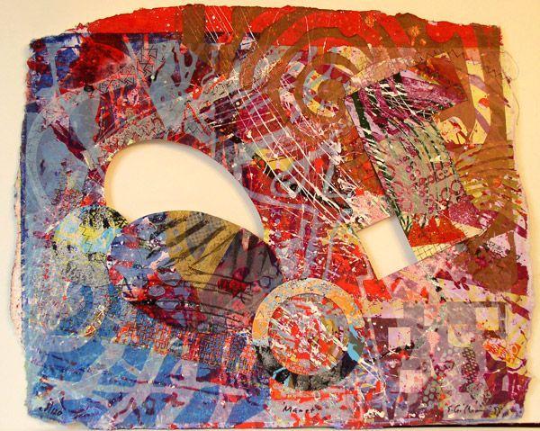 Manet III - Sam Gilliam