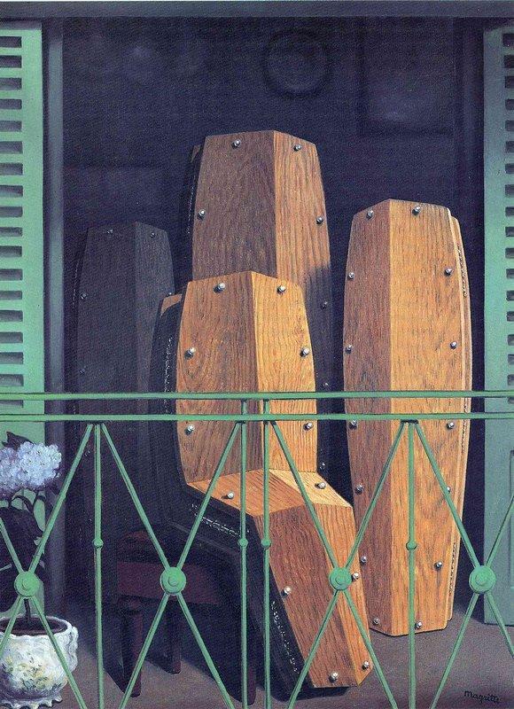 Manet's Balcony - Rene Magritte
