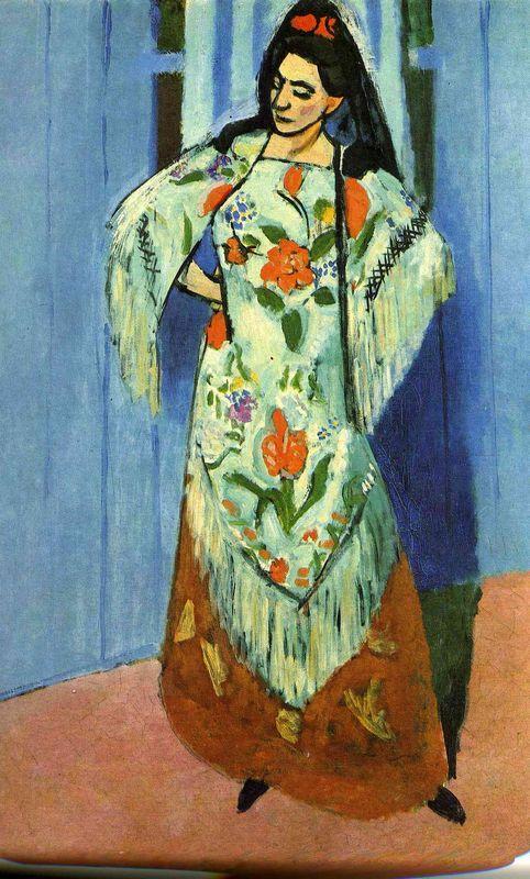 Manila Shawl - Henri Matisse