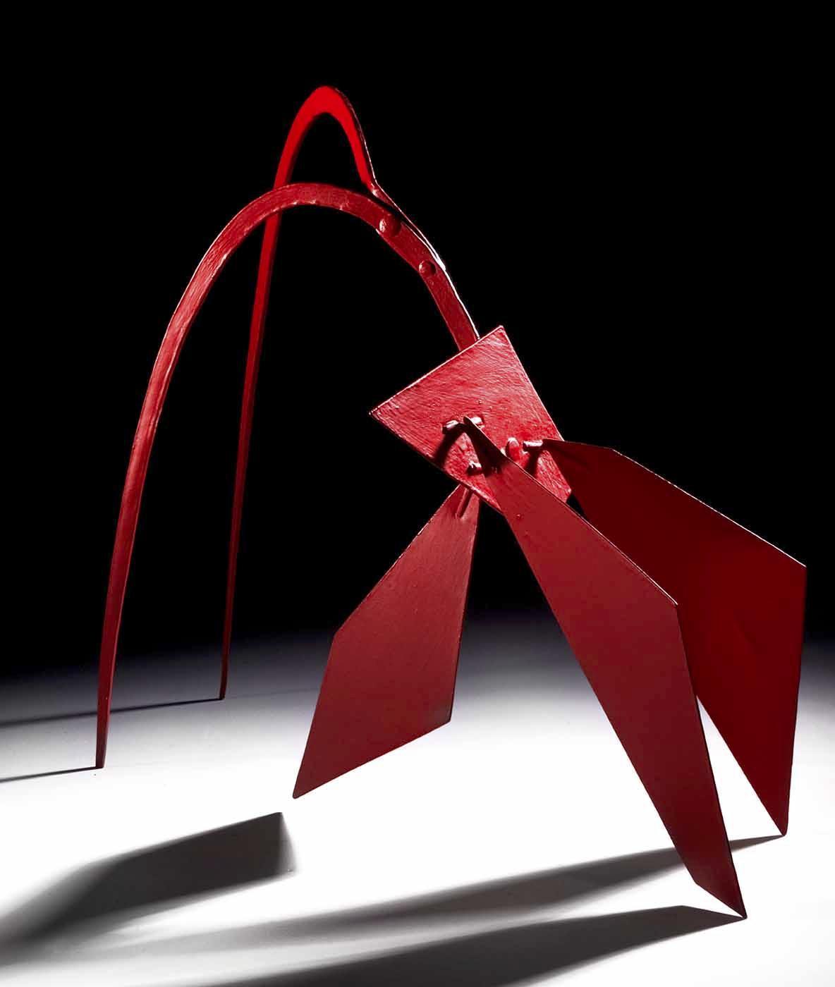 Maquette for Flamingo  - Alexander Calder