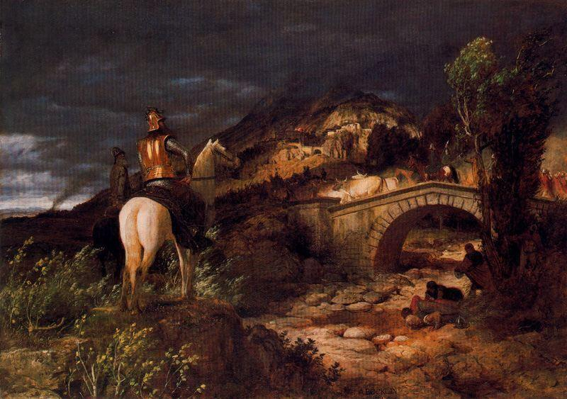 March of the Goths - Arnold Bocklin