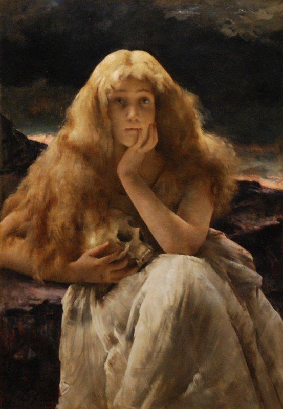 Maria Magdalena - Alfred Stevens