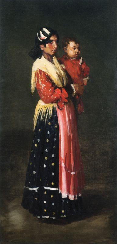 Maria y Consuelo  - Robert Henri