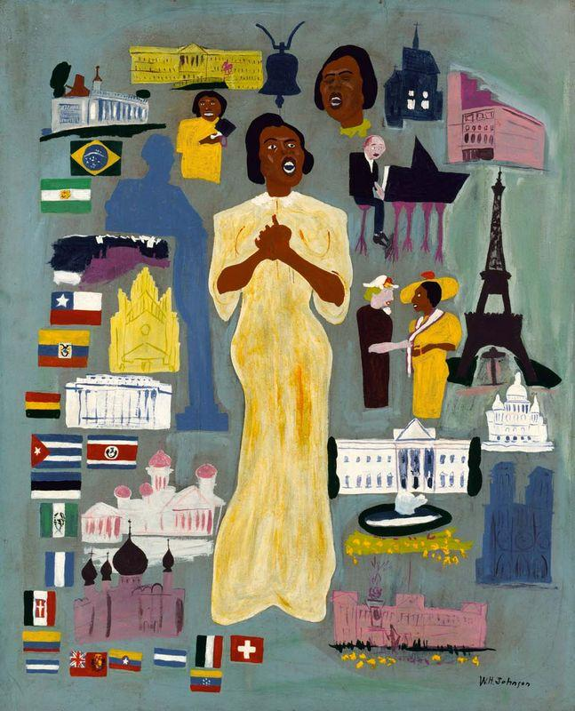 Marian Anderson - William H. Johnson