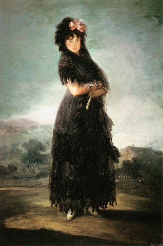 Mariana Waldstein, Ninth Marquesa de Santa Cruz - Francisco Goya