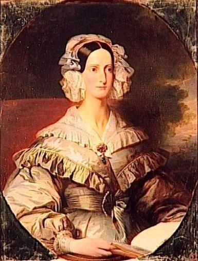 Marie Christine d'Orleans - Franz Xaver Winterhalter