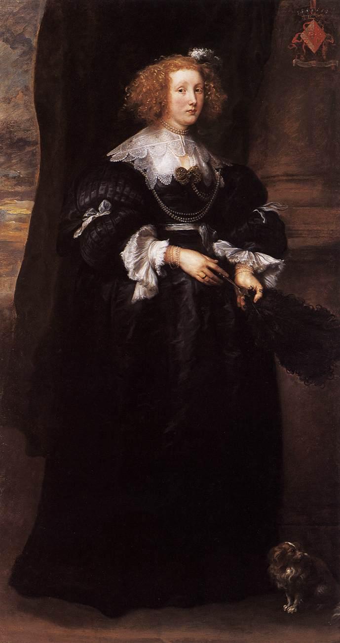 Marie de Raet - Anthony van Dyck