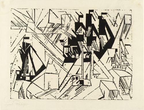 Marine from The First Portfolio (Die erste Mappe) - Lyonel Feininger