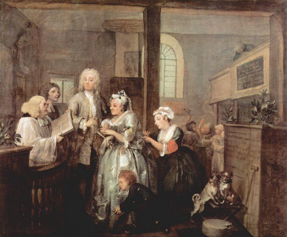 Marriage - William Hogarth
