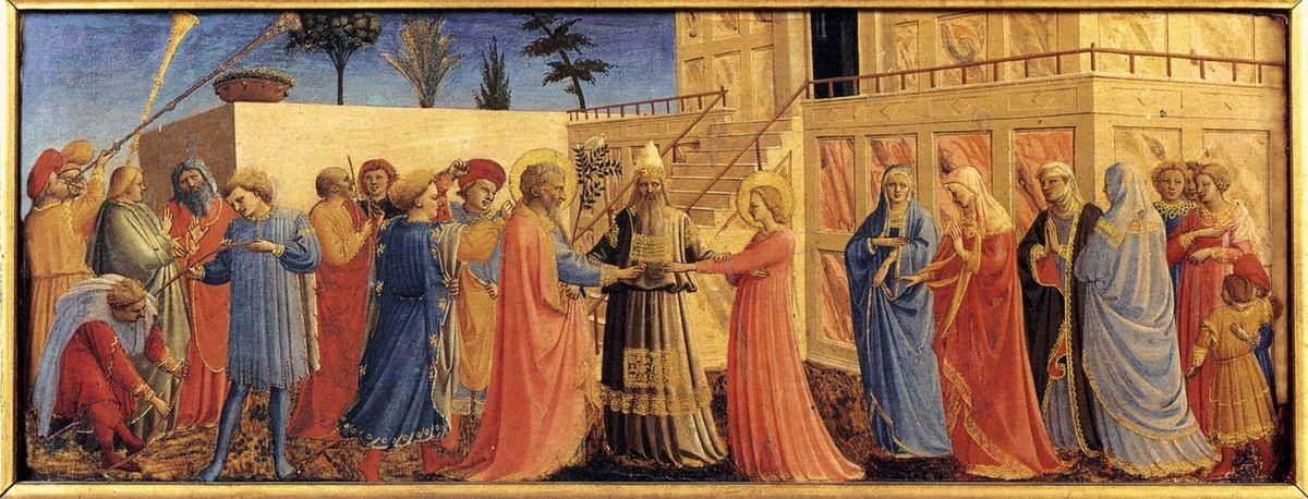 Marriage of the Virgin - Fra Angelico